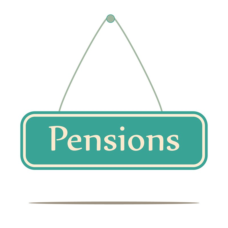Pensions paid to non-residents